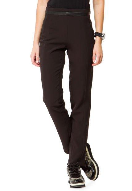 Pantalon Negro Inversa Coen