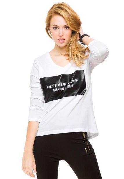 Remera Blanca Inversa Givenchy