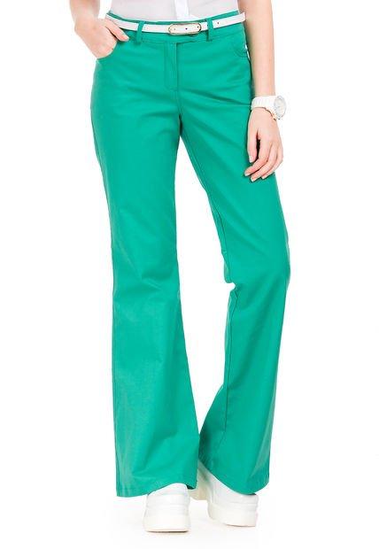 Pantalon Verde Jimezares Ista