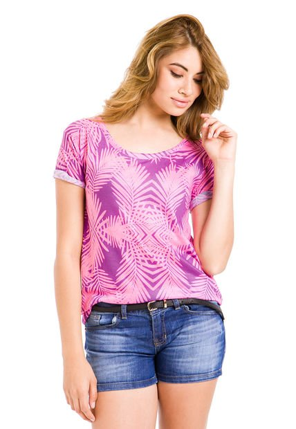 Remera Rosa Julien Angela