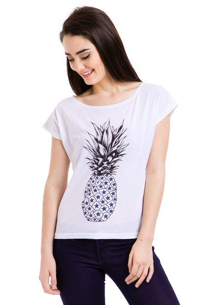 Remera Blanca KOUT Fruit