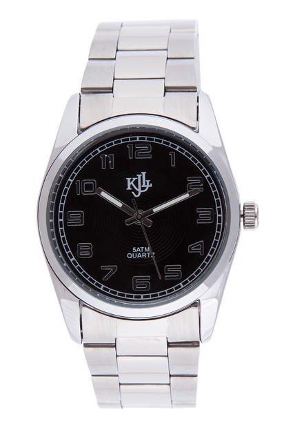 Reloj Plateado Kevingston