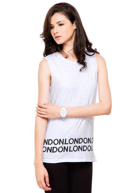 Musculosa Blanca Koxis London