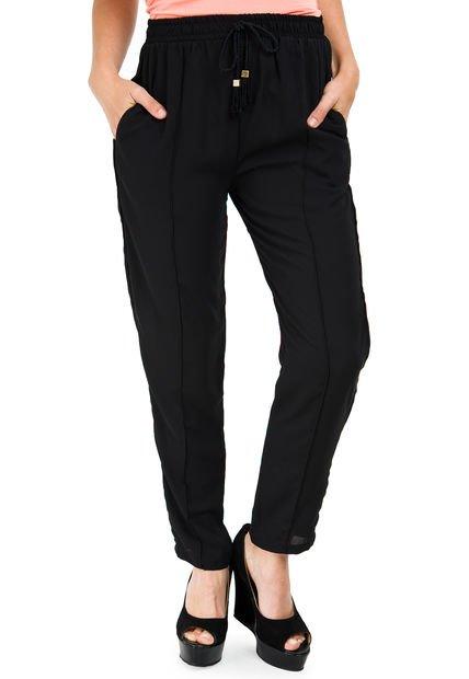 Pantalon Negro Koxis Mist