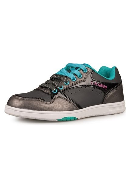 Zapatilla Gris La Gear Layla Low