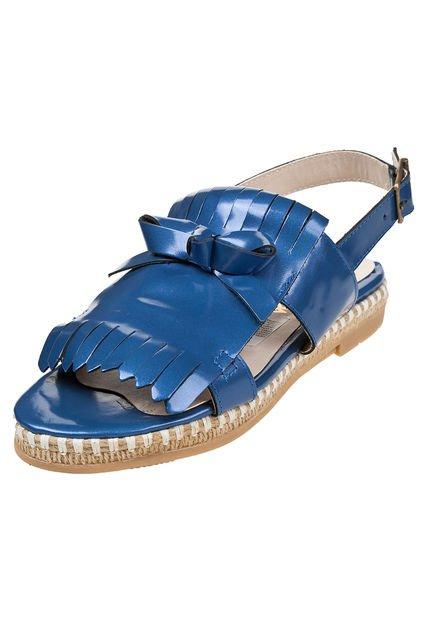 Sandalia Azul La Leopolda Roset