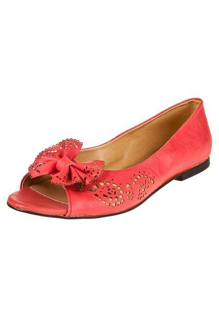 Zapato Rojo Lali Ramirez by RH Positivo Boquita de Pez