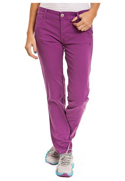 Pantalon Violeta Le Coq Sportif Light W