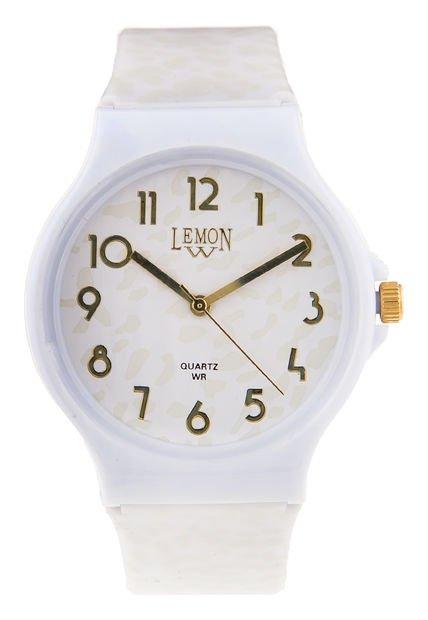 Reloj Blanco Lemon