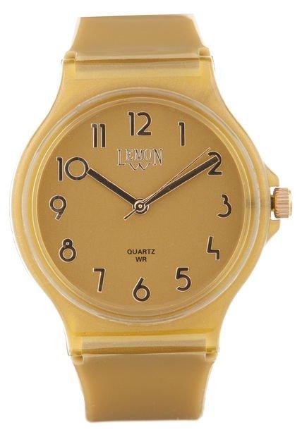 Reloj Dorado Lemon
