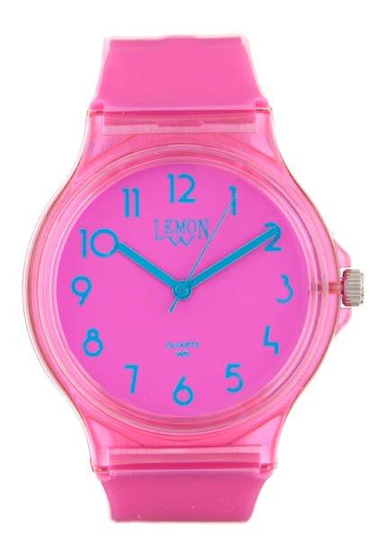 Reloj Fucsia Lemon