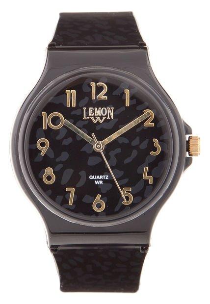 Reloj Negro Lemon