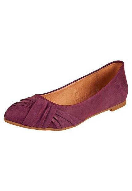 Balerina Violeta con Punta Plisada