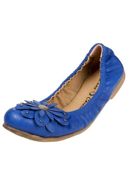 Balerina Azul Luna Chiara con Aplique
