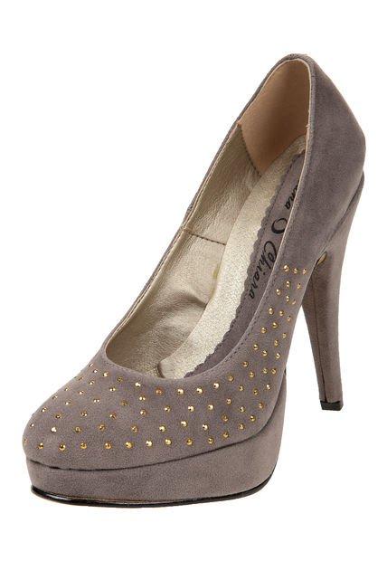 Zapato Vison Luna Chiara con Strass