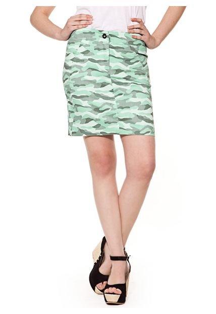 Falda Militar Mariana Marquez Austen
