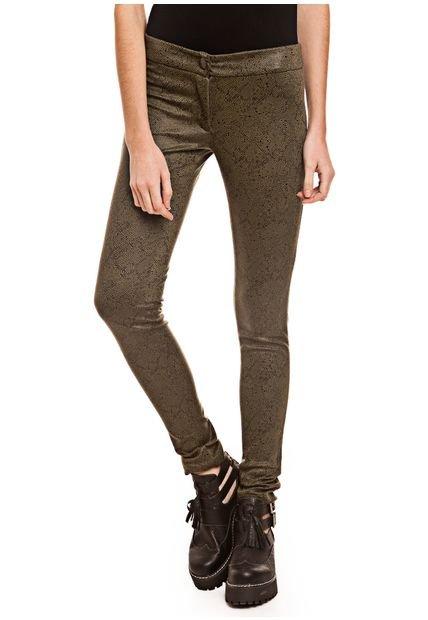 Pantalon Verde Mariana Marquez Malevich