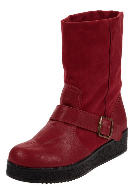 Bota Roja Miss Rock Daryl