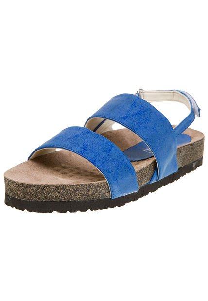 Sandalia Azul Miss Rock Peutren