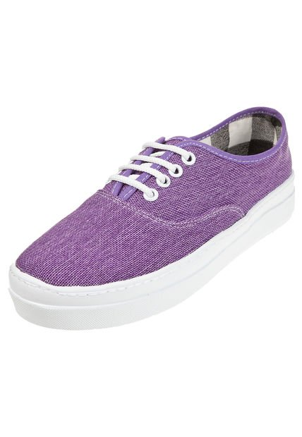 Zapatilla Violeta Miss Rock Caranca
