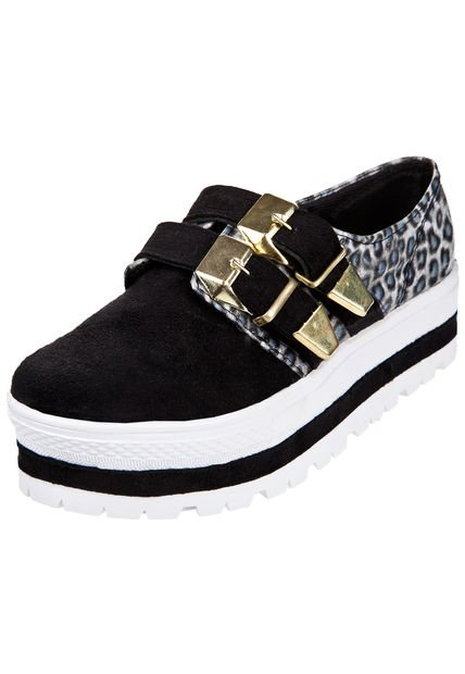 Zapato Animal Print Miss Rock Terry