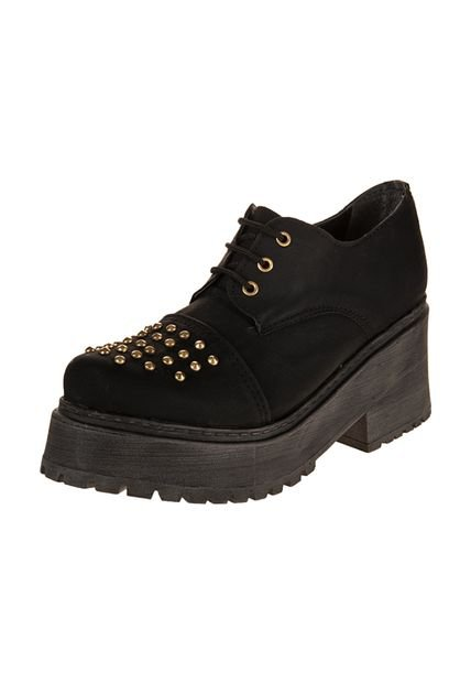 Zapato Negro Miss Rock May