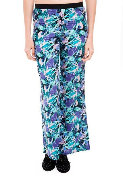 Pantalon Multicolor Muaa Claire Floreado
