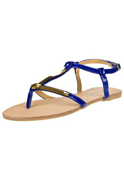 Sandalia Azul Muaa Pop