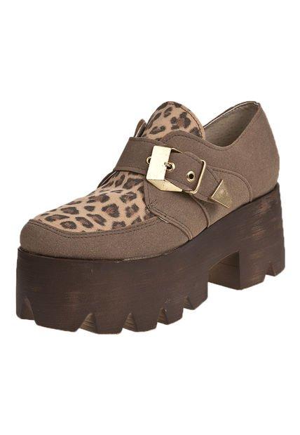 Zapato Vison Nadia con Plataforma