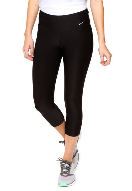 Calza Negra Nike Em 2.0 Ti Poly Capri