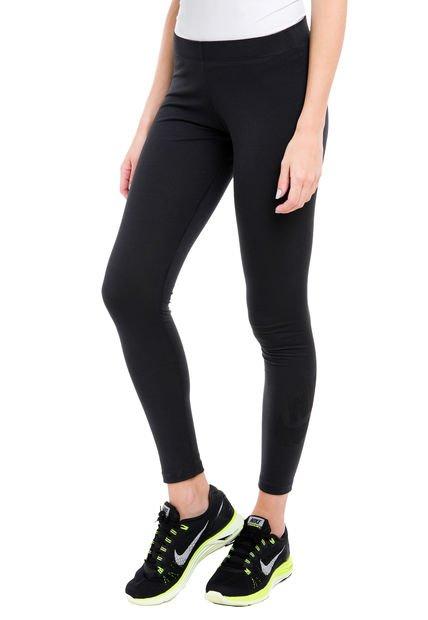 Calza Negra Nike Leg a See Logo