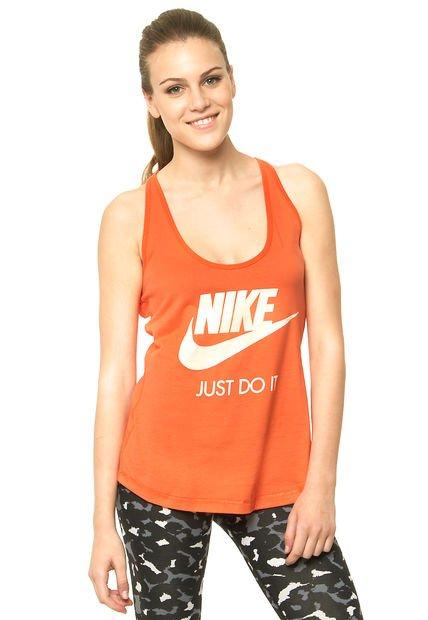 Musculosa Naranja Nike Gym Vintage