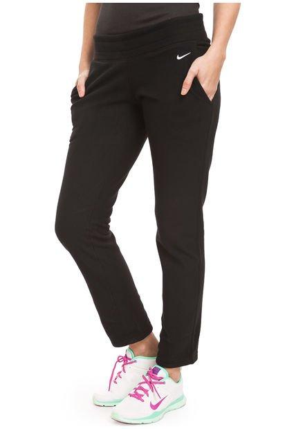 Pantalon Negro Nike Basic Fleece