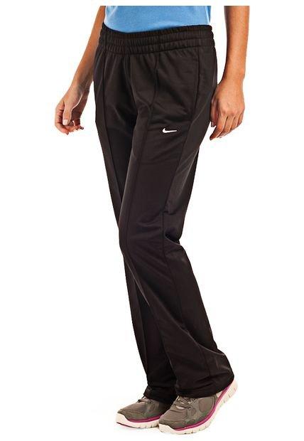Pantalon Negro Nike EM W Classic Polywarp Pant