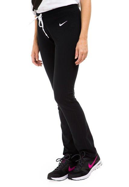 Pantalon Negro Nike Em Jersey Pant-Oh