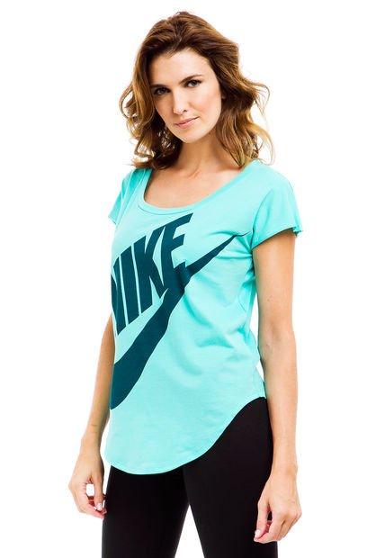 Remera Verde Nike EM Signal