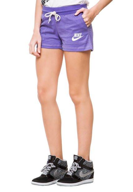 Short Violeta Nike EM JSY