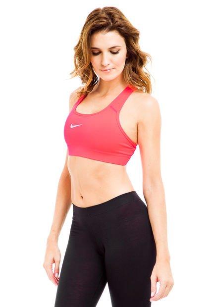 Top Rosa Fluo Nike Pro Bra