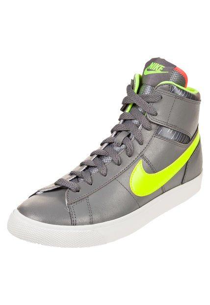 Zapatilla Gris Nike Match Supreme HI LTR
