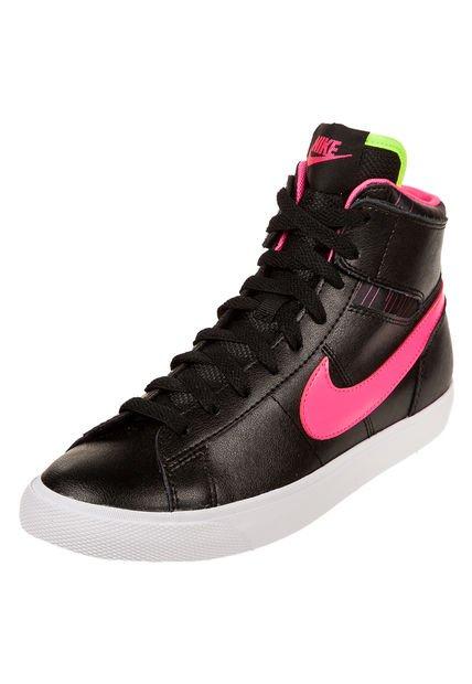 Zapatilla Negra Nike Match Supreme HI LTR
