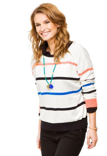 Sweater Blanco O'Neill Max Picasso