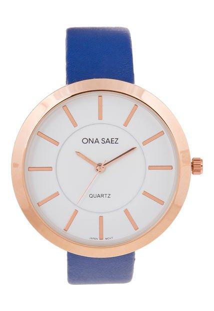 Reloj Azul Ona Saez