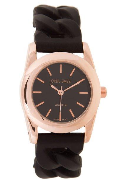 Reloj Negro Ona Saez