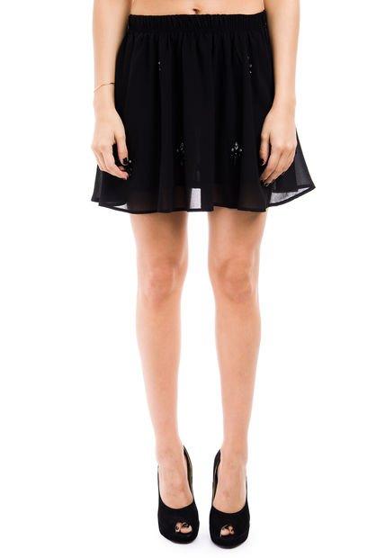 Falda Negra Peuque Gothic