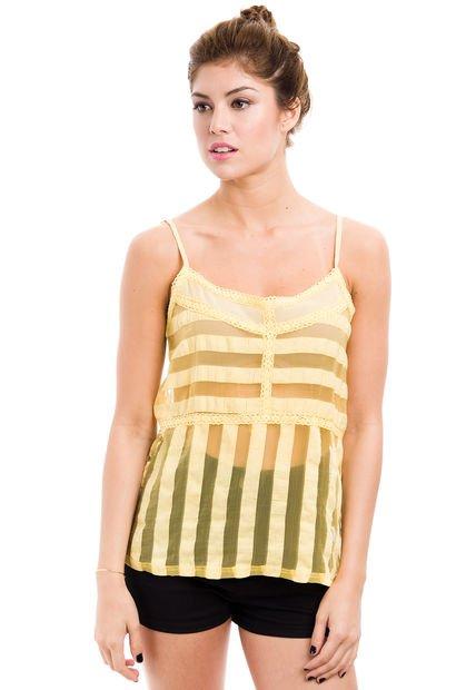 Musculosa Amarilla Peuque Belle