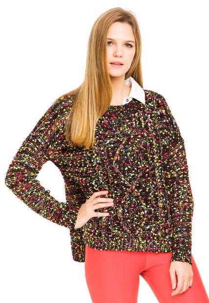 Sweater Multicolor Peuque Neon