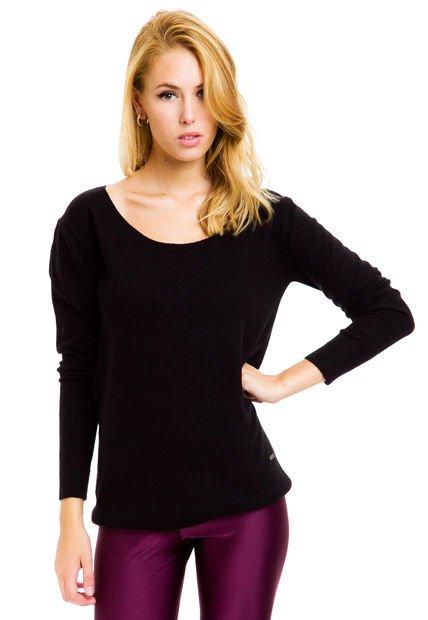 Sweater Negro Peuque Snow