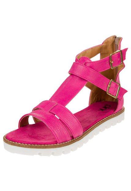Sandalia Fucsia Pink Munich