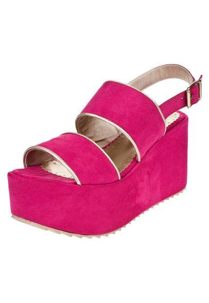 Sandalia Fucsia Pink Nueva York