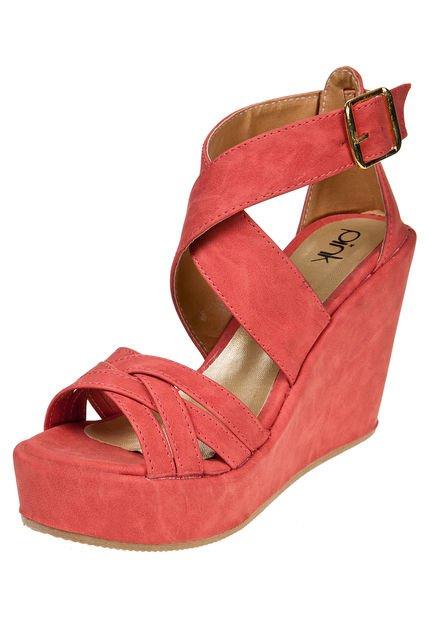 Sandalia Roja Pink Athenas